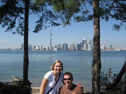 Toronto from Snake Island