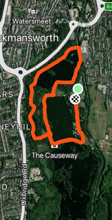 Rickmansworth route